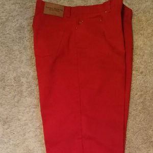 Ralph Lauren women's cherry red jeans size 12